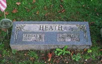 W. HEATH, EDGAR - Wood County, Ohio | EDGAR W. HEATH - Ohio Gravestone Photos