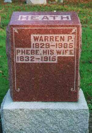 HEATH, WARREN PETTYS - Wood County, Ohio   WARREN PETTYS HEATH - Ohio Gravestone Photos