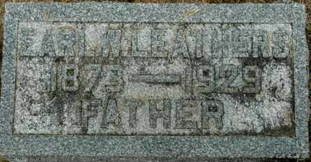 LEATHERS, EARL W. - Wood County, Ohio | EARL W. LEATHERS - Ohio Gravestone Photos
