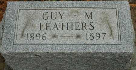 LEATHERS, GUY M. - Wood County, Ohio   GUY M. LEATHERS - Ohio Gravestone Photos