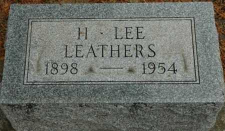 LEATHERS, HENRY LEE - Wood County, Ohio | HENRY LEE LEATHERS - Ohio Gravestone Photos