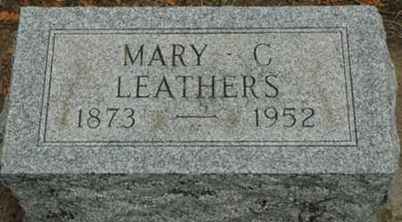 FREYMAN LEATHERS, MARY C. - Wood County, Ohio | MARY C. FREYMAN LEATHERS - Ohio Gravestone Photos