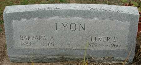 LYON, BARBARA A. - Wood County, Ohio | BARBARA A. LYON - Ohio Gravestone Photos
