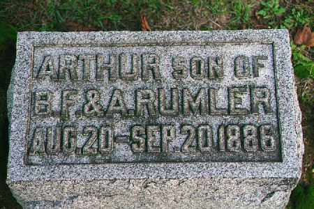 RUMLER, ARTHUR - Wood County, Ohio | ARTHUR RUMLER - Ohio Gravestone Photos
