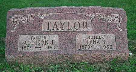 TAYLOR, ADDISON - Wood County, Ohio | ADDISON TAYLOR - Ohio Gravestone Photos