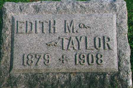 TAYLOR, EDITH M. - Wood County, Ohio | EDITH M. TAYLOR - Ohio Gravestone Photos
