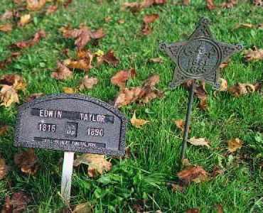 TAYLOR, EDWIN ZACHARIA - Wood County, Ohio | EDWIN ZACHARIA TAYLOR - Ohio Gravestone Photos
