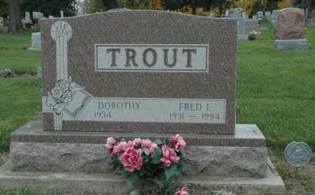 TROUT, FRED I. - Wood County, Ohio | FRED I. TROUT - Ohio Gravestone Photos