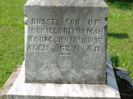 BAUM, REUHAMAH - Wyandot County, Ohio | REUHAMAH BAUM - Ohio Gravestone Photos