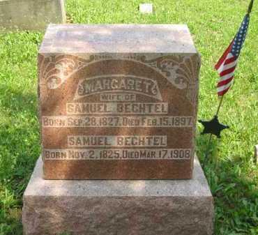 BECHTEL, MARGARETA - Wyandot County, Ohio | MARGARETA BECHTEL - Ohio Gravestone Photos