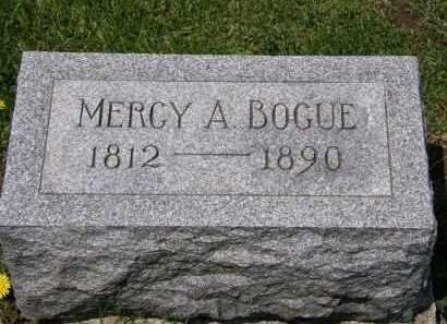 BOGUE, MERCY A. - Wyandot County, Ohio | MERCY A. BOGUE - Ohio Gravestone Photos