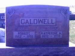 HOLZWART CALDWELL, KATHERINE - Wyandot County, Ohio | KATHERINE HOLZWART CALDWELL - Ohio Gravestone Photos
