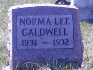 CALDWELL, NORMA LEE - Wyandot County, Ohio | NORMA LEE CALDWELL - Ohio Gravestone Photos