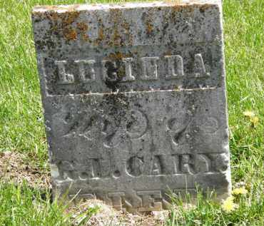 CARY, G.L. - Wyandot County, Ohio | G.L. CARY - Ohio Gravestone Photos