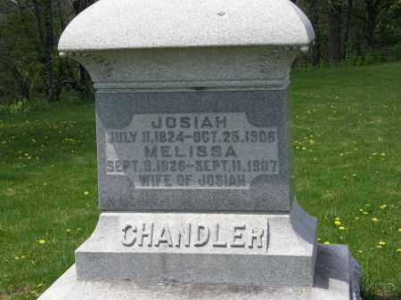 CHANDLER, MELISSA - Wyandot County, Ohio | MELISSA CHANDLER - Ohio Gravestone Photos