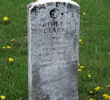 CLARK, ARTHUR H. - Wyandot County, Ohio | ARTHUR H. CLARK - Ohio Gravestone Photos