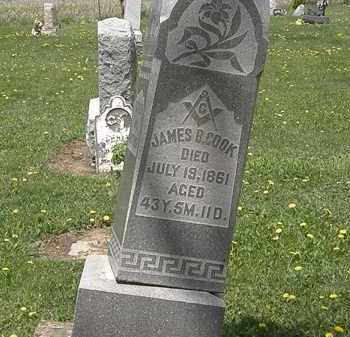 COOK, JAMES B. - Wyandot County, Ohio   JAMES B. COOK - Ohio Gravestone Photos