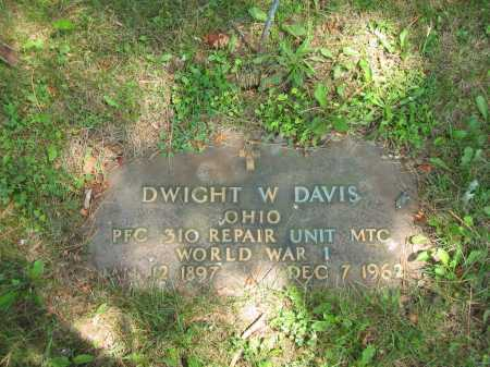 DAVIS, DWIGHT W. - Wyandot County, Ohio | DWIGHT W. DAVIS - Ohio Gravestone Photos