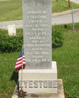 EYESTONE, SARAH A. - Wyandot County, Ohio | SARAH A. EYESTONE - Ohio Gravestone Photos