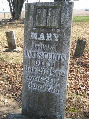 FELTIS, MARY - Wyandot County, Ohio | MARY FELTIS - Ohio Gravestone Photos