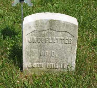 FLATTER, JNO. - Wyandot County, Ohio   JNO. FLATTER - Ohio Gravestone Photos