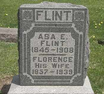 FLINT, ASA E. - Wyandot County, Ohio | ASA E. FLINT - Ohio Gravestone Photos