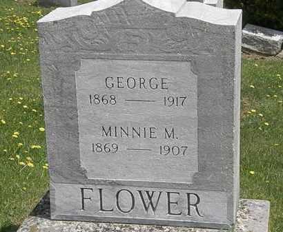 FLOWER, GEORGE - Wyandot County, Ohio | GEORGE FLOWER - Ohio Gravestone Photos