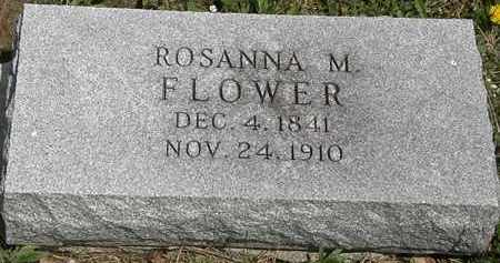 FLOWER, ROSANNA M. - Wyandot County, Ohio | ROSANNA M. FLOWER - Ohio Gravestone Photos
