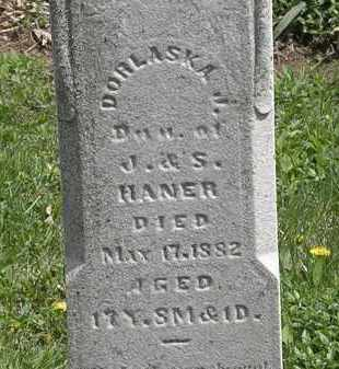 HANER, J. - Wyandot County, Ohio | J. HANER - Ohio Gravestone Photos