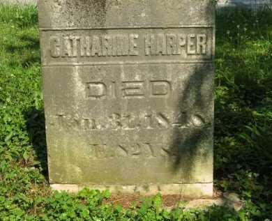 HARPER, CATHARINE - Wyandot County, Ohio | CATHARINE HARPER - Ohio Gravestone Photos