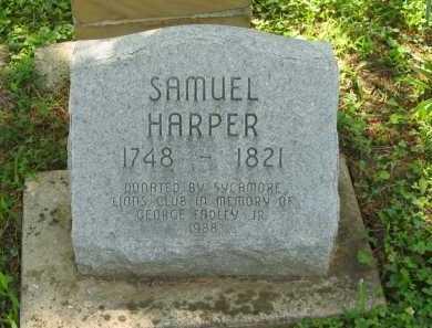 HARPER, SAMUEL - Wyandot County, Ohio | SAMUEL HARPER - Ohio Gravestone Photos