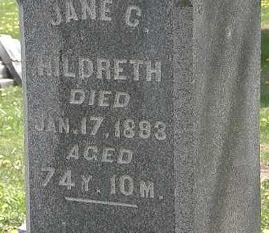 HILDRETH, JANE C. - Wyandot County, Ohio   JANE C. HILDRETH - Ohio Gravestone Photos