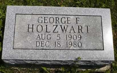 HOLZWART, GEORGE F. - Wyandot County, Ohio | GEORGE F. HOLZWART - Ohio Gravestone Photos
