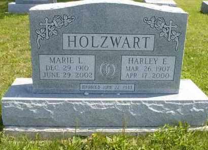 HOLZWART, MARIE L. - Wyandot County, Ohio | MARIE L. HOLZWART - Ohio Gravestone Photos