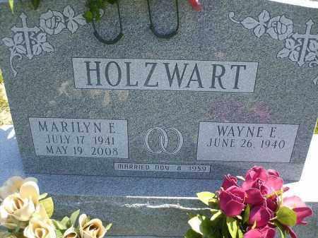 HOLZWART, WAYNE E. - Wyandot County, Ohio   WAYNE E. HOLZWART - Ohio Gravestone Photos