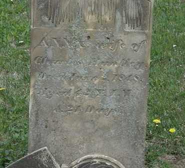HUNTLEY, ANNA - Wyandot County, Ohio | ANNA HUNTLEY - Ohio Gravestone Photos