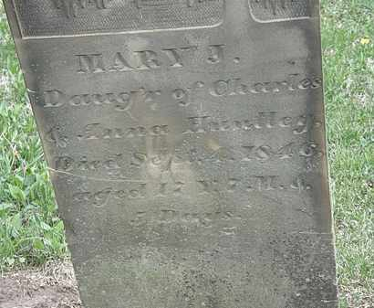 HUNTLEY, MARY J. - Wyandot County, Ohio | MARY J. HUNTLEY - Ohio Gravestone Photos