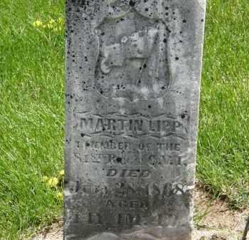 LIPP, MARTIN - Wyandot County, Ohio | MARTIN LIPP - Ohio Gravestone Photos