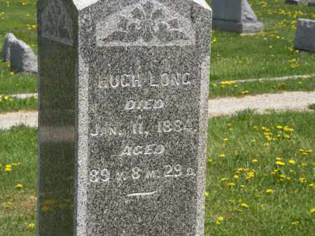 LONG, HUGH - Wyandot County, Ohio | HUGH LONG - Ohio Gravestone Photos