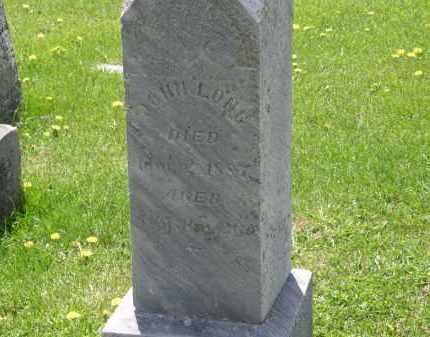 LONG, JOHN - Wyandot County, Ohio | JOHN LONG - Ohio Gravestone Photos