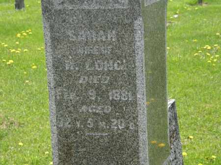 LONG, SARAH - Wyandot County, Ohio | SARAH LONG - Ohio Gravestone Photos