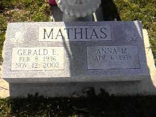 MATHIAS, GERALD EUGENE - Wyandot County, Ohio | GERALD EUGENE MATHIAS - Ohio Gravestone Photos