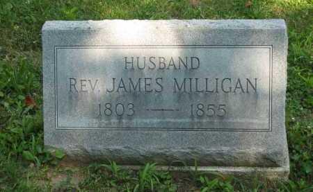 MILLIGAN, REV. JAMES - Wyandot County, Ohio | REV. JAMES MILLIGAN - Ohio Gravestone Photos