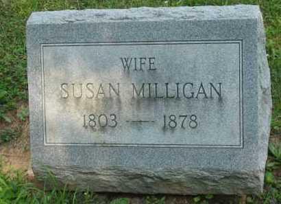 MILLIGAN, SUSAN - Wyandot County, Ohio | SUSAN MILLIGAN - Ohio Gravestone Photos