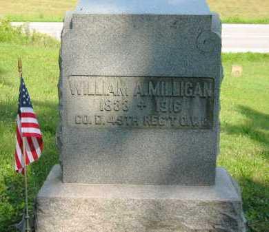 MILLIGAN, WILLIAM A. - Wyandot County, Ohio | WILLIAM A. MILLIGAN - Ohio Gravestone Photos