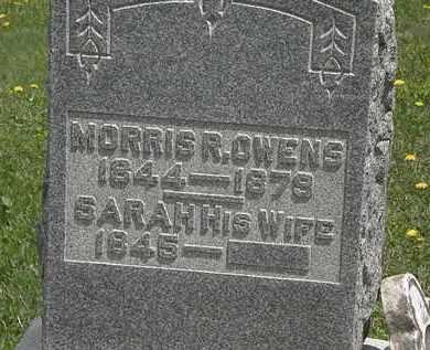 OWENS, SARAH - Wyandot County, Ohio | SARAH OWENS - Ohio Gravestone Photos