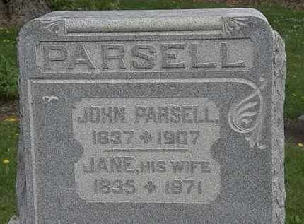 PARSELL, JOHN - Wyandot County, Ohio | JOHN PARSELL - Ohio Gravestone Photos