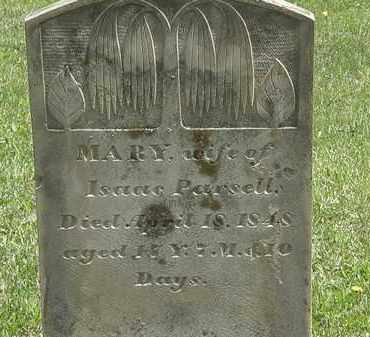 PARSELL, MARY - Wyandot County, Ohio | MARY PARSELL - Ohio Gravestone Photos