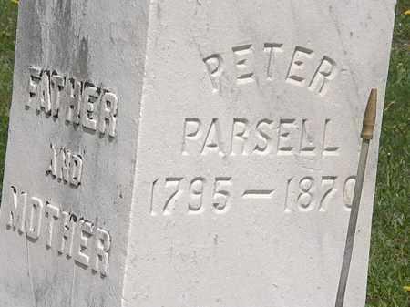 PARSELL, PETER - Wyandot County, Ohio   PETER PARSELL - Ohio Gravestone Photos