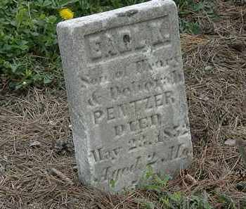 PENTZER, EARL K. - Wyandot County, Ohio   EARL K. PENTZER - Ohio Gravestone Photos